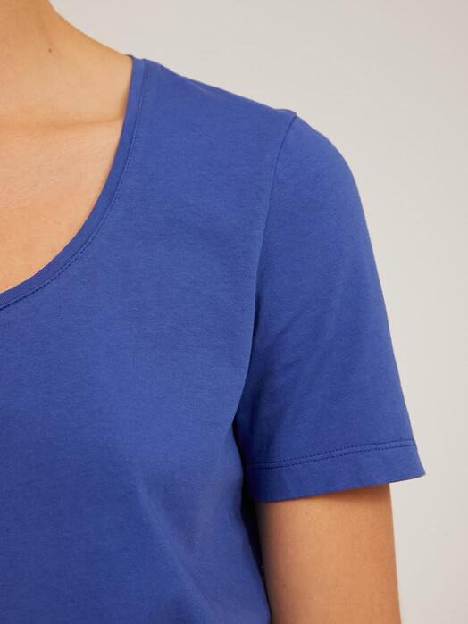 ARMEDANGELS T-Shirts Jaalina Recycled [deep ultramarine] jetzt im Onlineshop von zündstoff bestellen