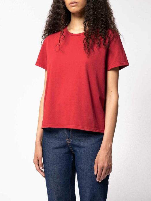 nudie Jeans T-Shirts Lisa Tee [chili] jetzt im Onlineshop von zündstoff bestellen