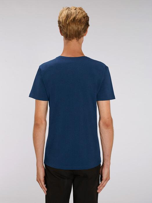 T-Shirts - Peer [diverse Farben] - XL, black heather blue 4