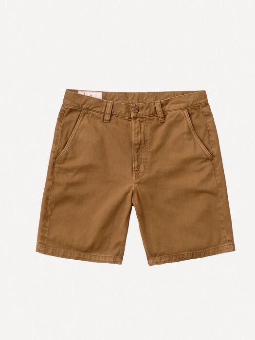 nudie Jeans Shorts Luke Worker Shorts Rigid Twill [hazel] jetzt im Onlineshop von zündstoff bestellen