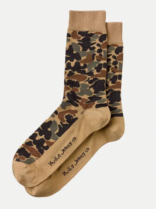 nudie Jeans Socken  Olsson Camo [multi] One Size jetzt im Onlineshop von zündstoff bestellen