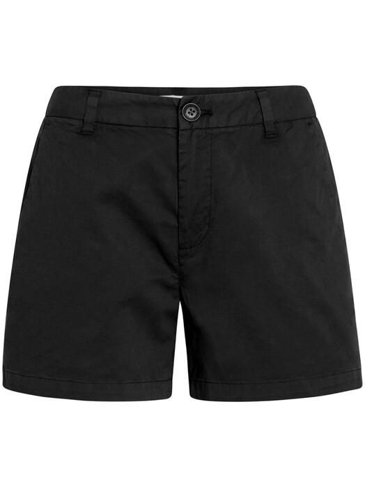 Knowledge Cotton Apparel  Shorts Willow Chino Shorts [black jet] jetzt im Onlineshop von zündstoff bestellen