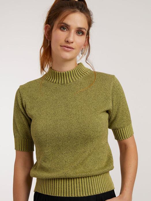 ThokkThokk  T-Shirts Shortsleeve [cypress/wild lime] jetzt im Onlineshop von zündstoff bestellen