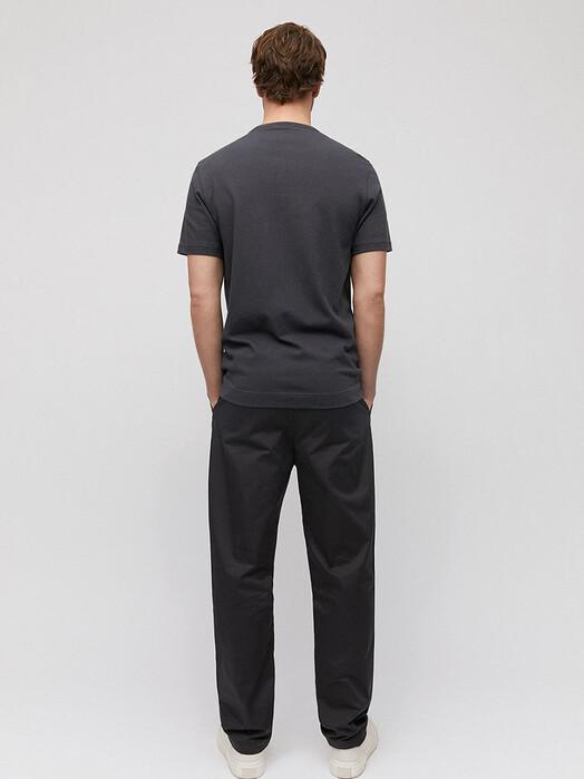 ARMEDANGELS T-Shirts Aantonio Linen [acid black] jetzt im Onlineshop von zündstoff bestellen
