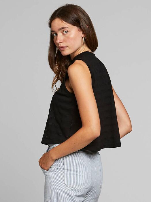 Dedicated Tops Namsos Lace Jersey [black] XS jetzt im Onlineshop von zündstoff bestellen