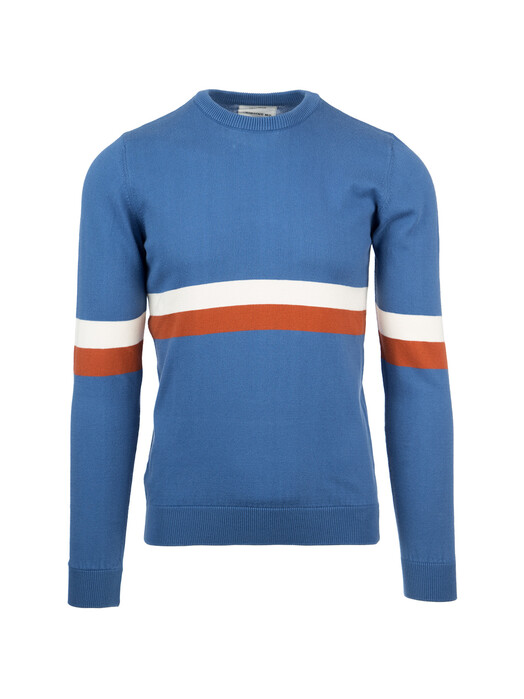 Strickpullover - Blue Knitted RCPB Sweater [blue marino] 1