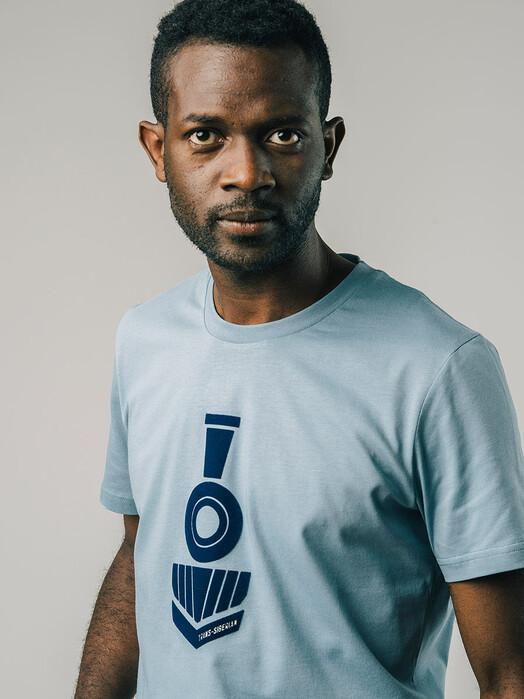 Brava Fabrics T-Shirts Locomotive T-Shirt [ocean] jetzt im Onlineshop von zündstoff bestellen
