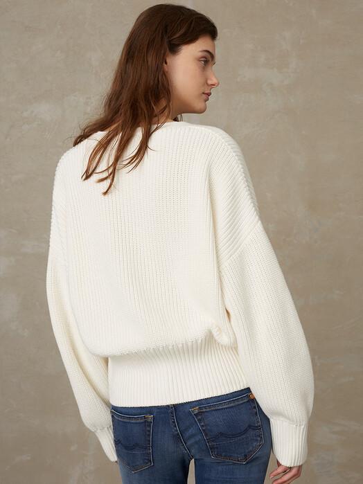 K.O.I. Jeans Strickpullover & Cardigans Decima [Ecru] jetzt im Onlineshop von zündstoff bestellen