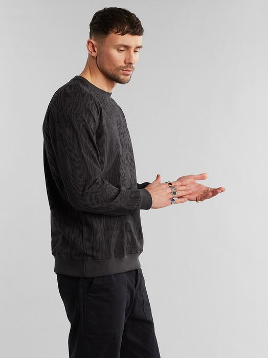 Dedicated Sweatshirts Malmoe Wood Cut [charcoal] jetzt im Onlineshop von zündstoff bestellen