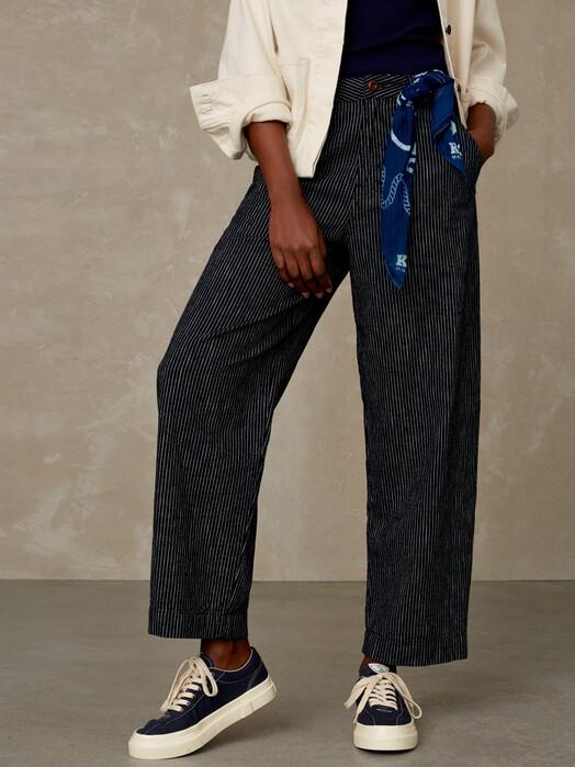 K.O.I. Jeans Hosen Leila [stripe indigo] jetzt im Onlineshop von zündstoff bestellen