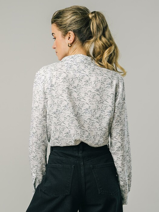Brava Fabrics Blusen Riding Blouse [ecru] jetzt im Onlineshop von zündstoff bestellen
