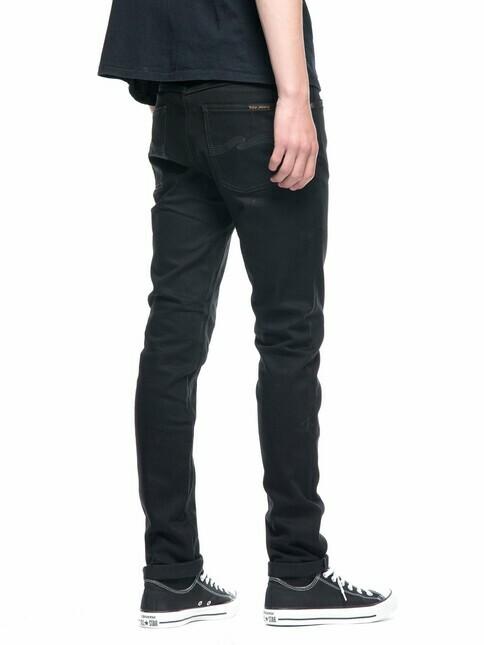 nudie Jeans Lean Dean [dry everblack]