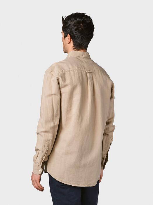 Klitmøller Collective Hemden & Polos Benjamin Linen [sand] jetzt im Onlineshop von zündstoff bestellen