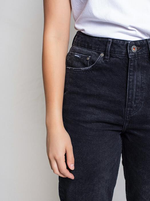 Kuyichi  Jeans Nora Mom Fit High Waist [vintage black] 33, 32 jetzt im Onlineshop von zündstoff bestellen