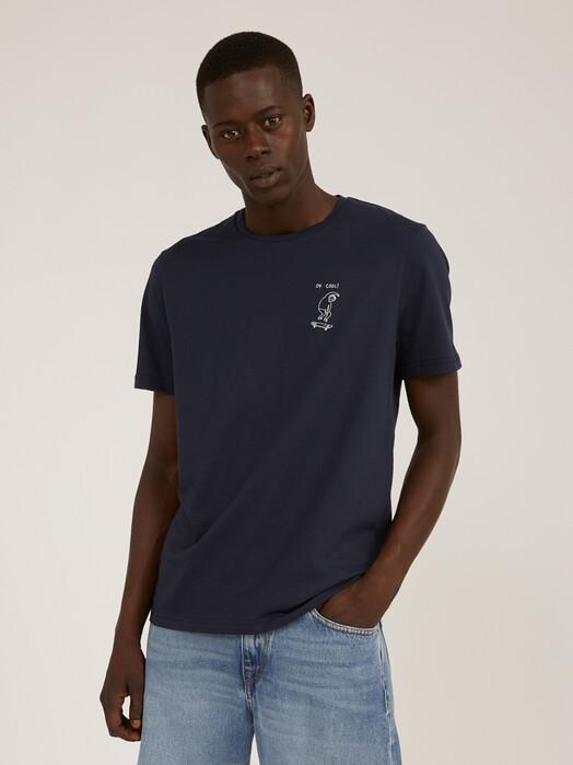 ARMEDANGELS T-Shirts Jaames OK Cool [depth navy] S jetzt im Onlineshop von zündstoff bestellen