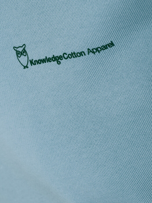 Knowledge Cotton Apparel  Sweatshirts Elm Knowledgecotton Sweat [asley blue] jetzt im Onlineshop von zündstoff bestellen