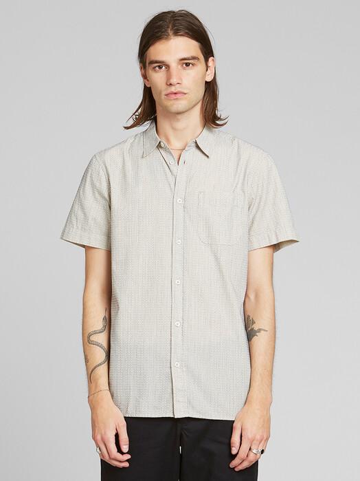 Dedicated Hemden & Polos Sandefjord Dobby [off white] jetzt im Onlineshop von zündstoff bestellen