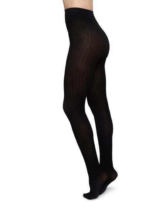 Swedish Stockings Leggings & Strumpfhosen Alma Rib [black] jetzt im Onlineshop von zündstoff bestellen