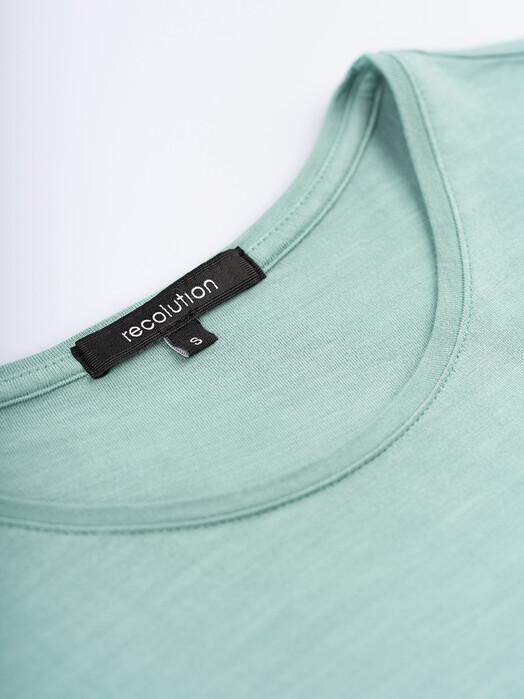 recolution  T-Shirts Ecovero T-Shirt Turn-Up [light eukalyptus] XS jetzt im Onlineshop von zündstoff bestellen