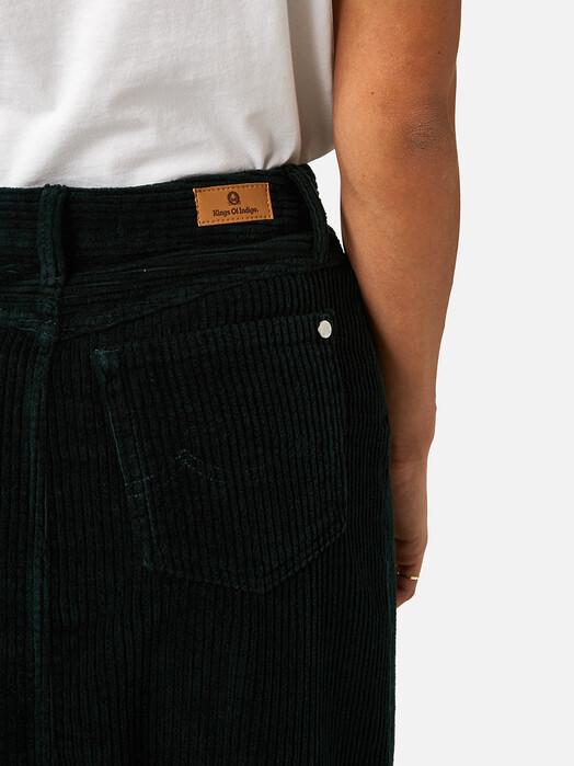 K.O.I. Jeans Röcke Atsuko [dark green corduroy] jetzt im Onlineshop von zündstoff bestellen