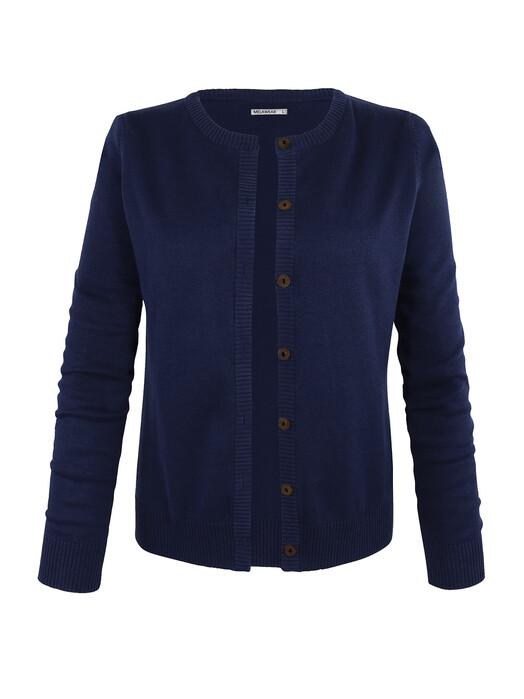 mela wear Strickpullover & Cardigans Cardigan [blue] jetzt im Onlineshop von zündstoff bestellen