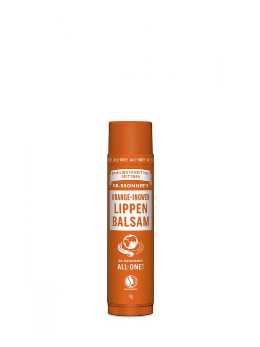Dr. Bronner's Kosmetik Lipbalm Orange Ingwer jetzt im Onlineshop von zündstoff bestellen