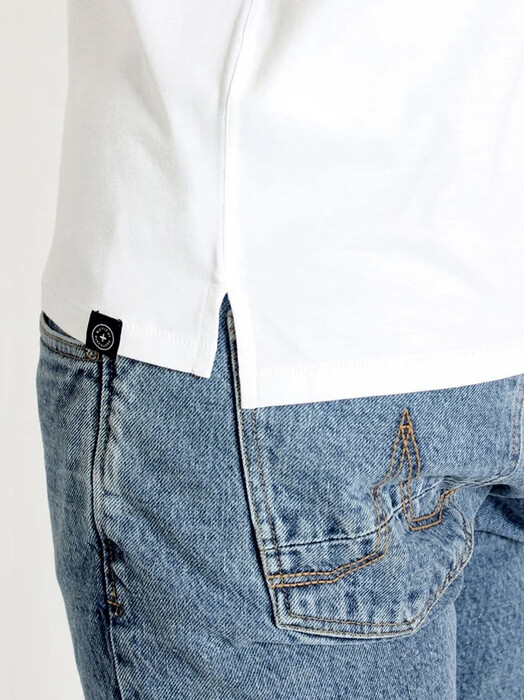 Kuyichi  T-Shirts Cayden [white] jetzt im Onlineshop von zündstoff bestellen