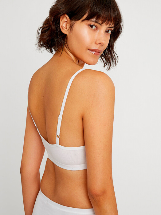 Unterwäsche  - Soft Bra Top [eco white] - M 2