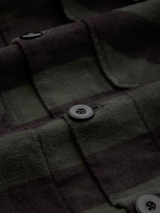 K.O.I. Jeans Jacken & Mäntel Emery [deep forest check] jetzt im Onlineshop von zündstoff bestellen