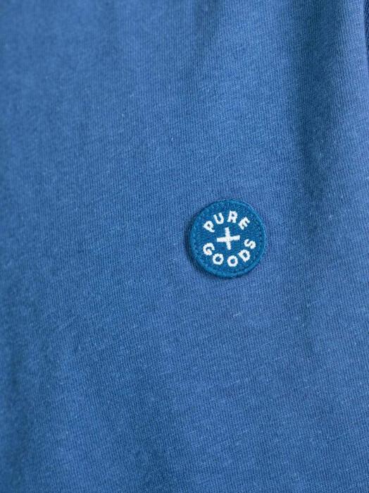 Kuyichi  T-Shirts Liam Hemp Tee [royal blue] jetzt im Onlineshop von zündstoff bestellen