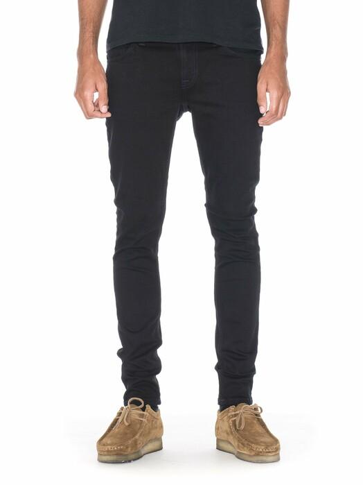 nudie Jeans Jeans Skinny Lin [black black] 30, 32 jetzt im Onlineshop von zündstoff bestellen