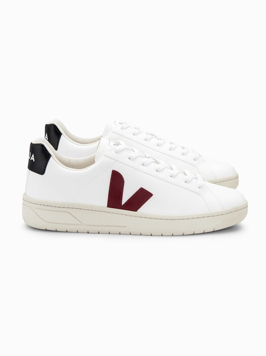 Veja Schuhe Urca CWL [white marsala black] jetzt im Onlineshop von zündstoff bestellen