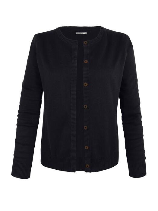 melawear Strickpullover & Cardigans Cardigan [black] L jetzt im Onlineshop von zündstoff bestellen