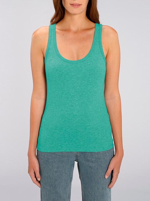 zündstoff.basics Tops Delia [diverse Farben] L, mid heather green jetzt im Onlineshop von zündstoff bestellen