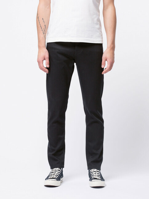 nudie Jeans Steady Eddie II [dry ever black]