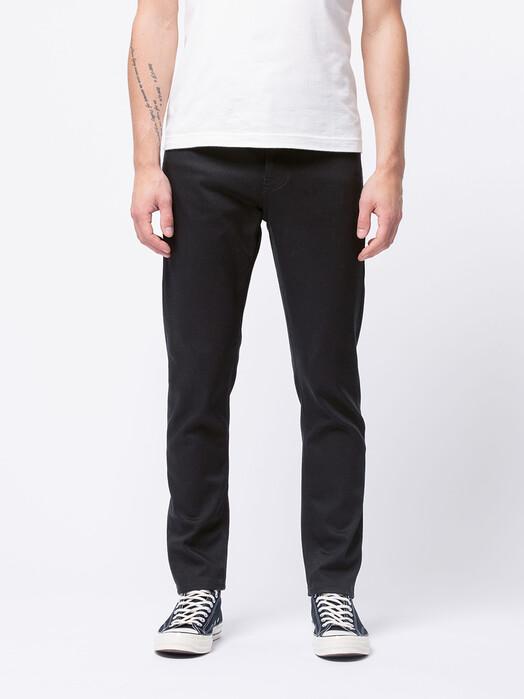 nudie Jeans Jeans Steady Eddie II [dry ever black] jetzt im Onlineshop von zündstoff bestellen