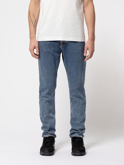 nudie Jeans Jeans Steady Eddie II [friendly blue] jetzt im Onlineshop von zündstoff bestellen