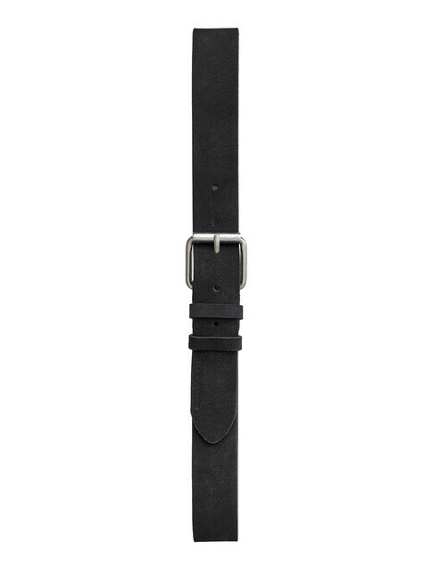 nudie Jeans Pedersson Suede Belt [black]