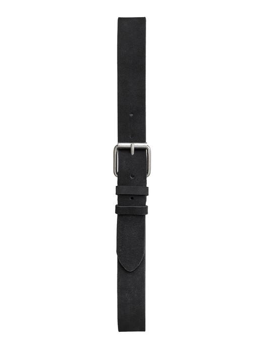 nudie Jeans Gürtel Pedersson Suede Belt [black] jetzt im Onlineshop von zündstoff bestellen