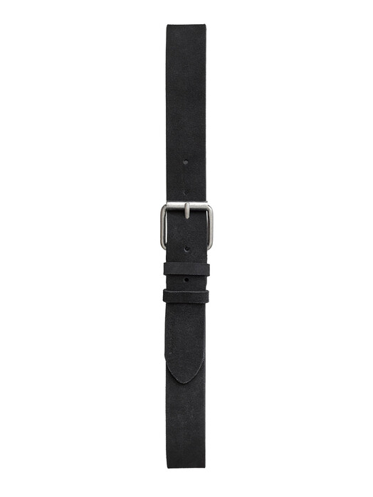 nudie Jeans Gürtel Pedersson Suede Belt [black] 90 cm jetzt im Onlineshop von zündstoff bestellen