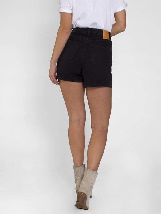 Kuyichi  Shorts Demi [washed black] jetzt im Onlineshop von zündstoff bestellen