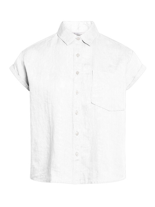 Knowledge Cotton Apparel  Blusen Aster [bright white] M jetzt im Onlineshop von zündstoff bestellen