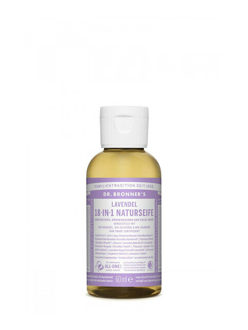 Dr. Bronner's Liquid Soap Lavendel 60ml