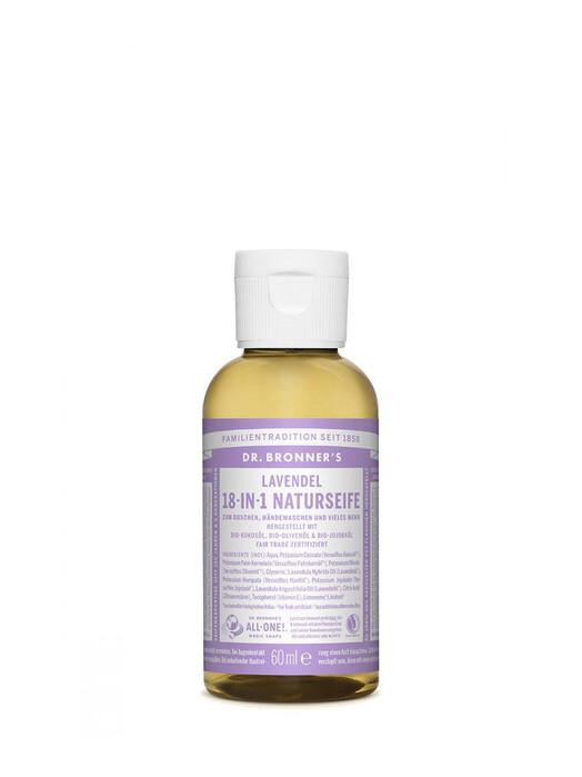 Dr. Bronner's Kosmetik Liquid Soap Lavendel 60ml jetzt im Onlineshop von zündstoff bestellen