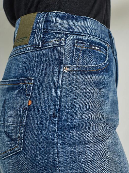 Kuyichi Jeans Röcke Dani Denim Skirt [vintage blue] jetzt im Onlineshop von zündstoff bestellen