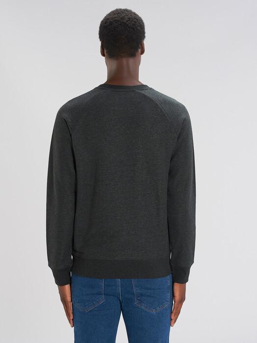 Sweatshirts - Silas [diverse Farben] - M, dark heather grey 4