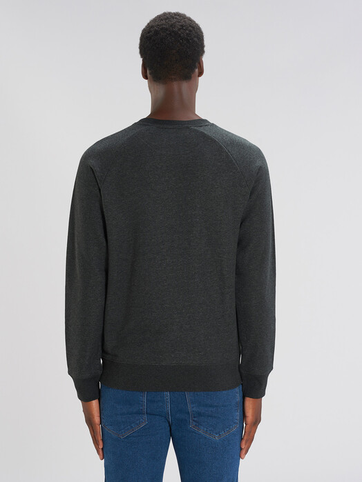 zündstoff.basics Sweatshirts Silas [diverse Farben] M, dark heather grey jetzt im Onlineshop von zündstoff bestellen