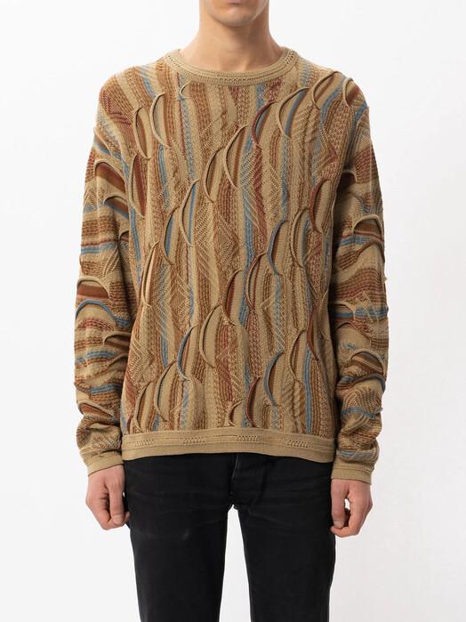 nudie Jeans Strickpullover Didrik Mixed Jacquard [multi] L jetzt im Onlineshop von zündstoff bestellen