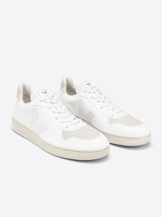 Veja Schuhe V-10 Vegan CWL [full-white natural] 44 jetzt im Onlineshop von zündstoff bestellen