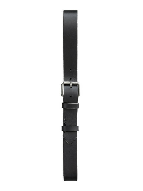 nudie Jeans Pedersson Leather Belt [black]